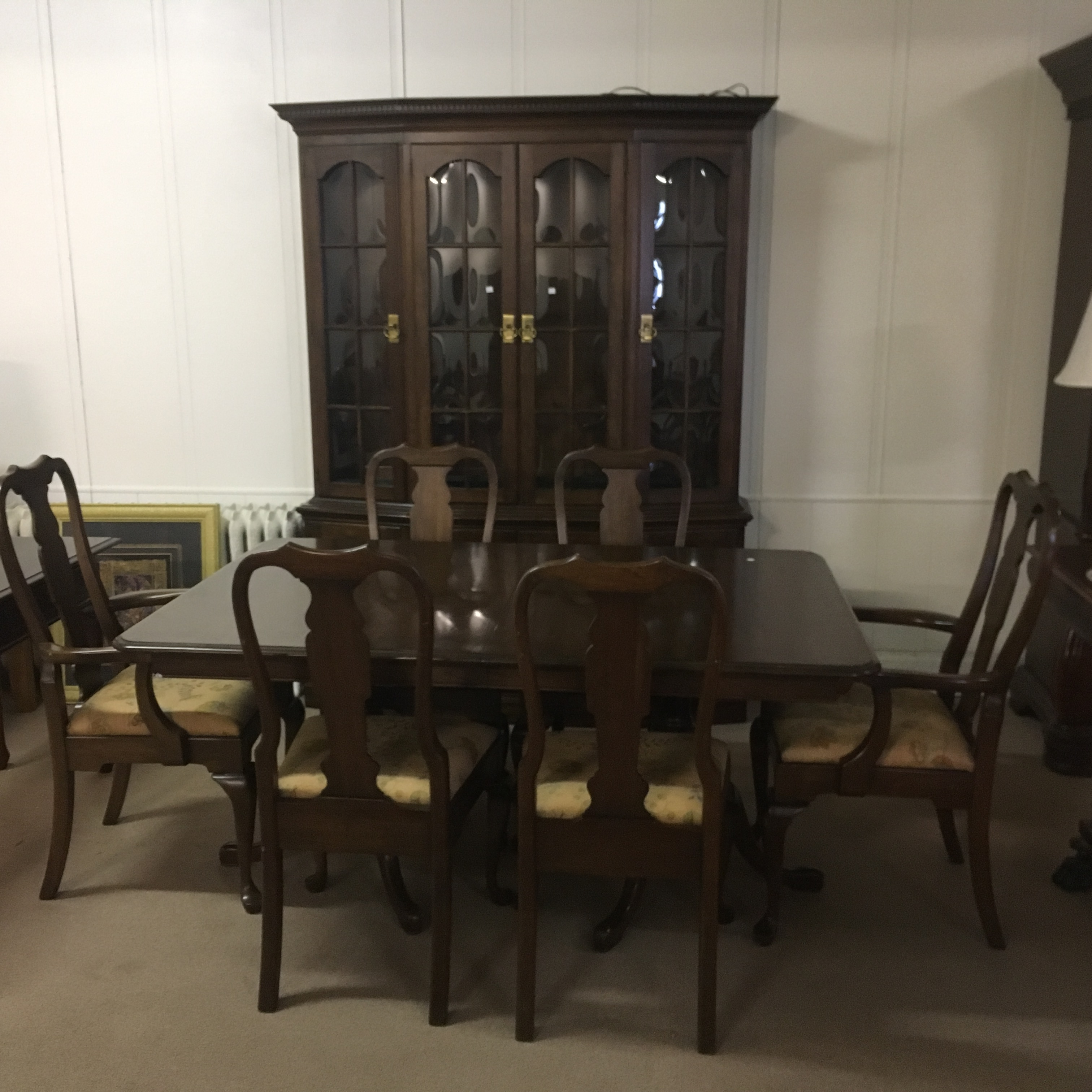 Complete Dining Sets : Pennsylvania House 8 Piece Dining