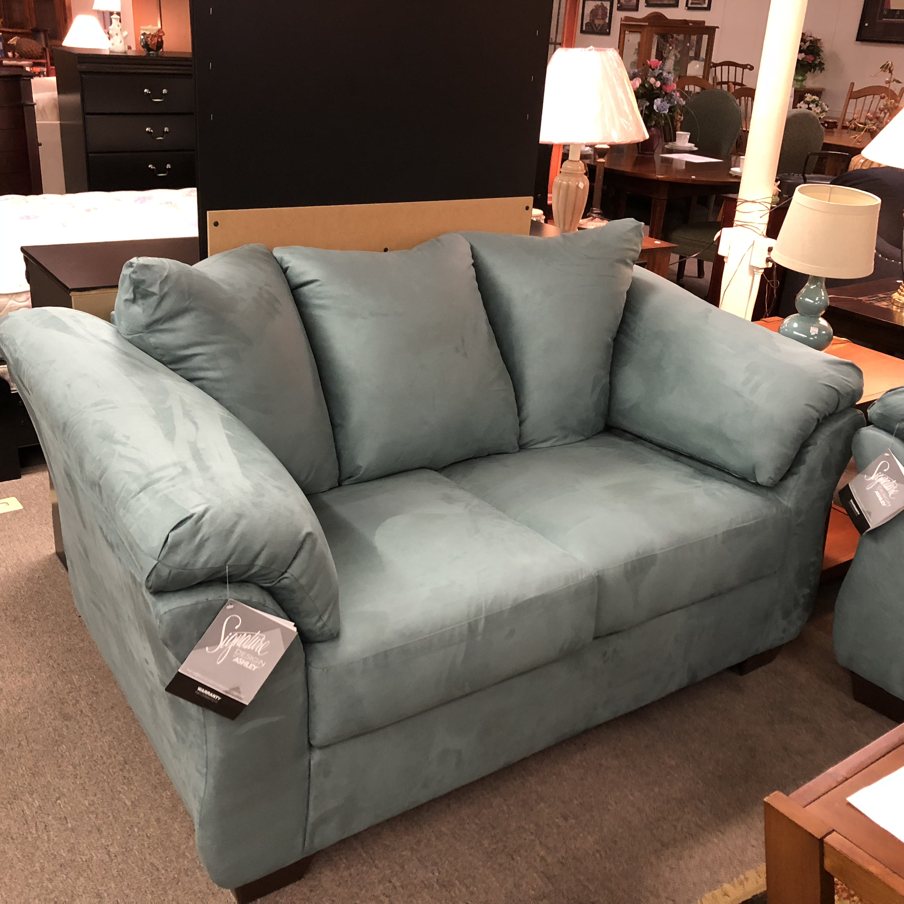 Living Room: BRAND NEW! Ashley Furniture Darcy Sofa And