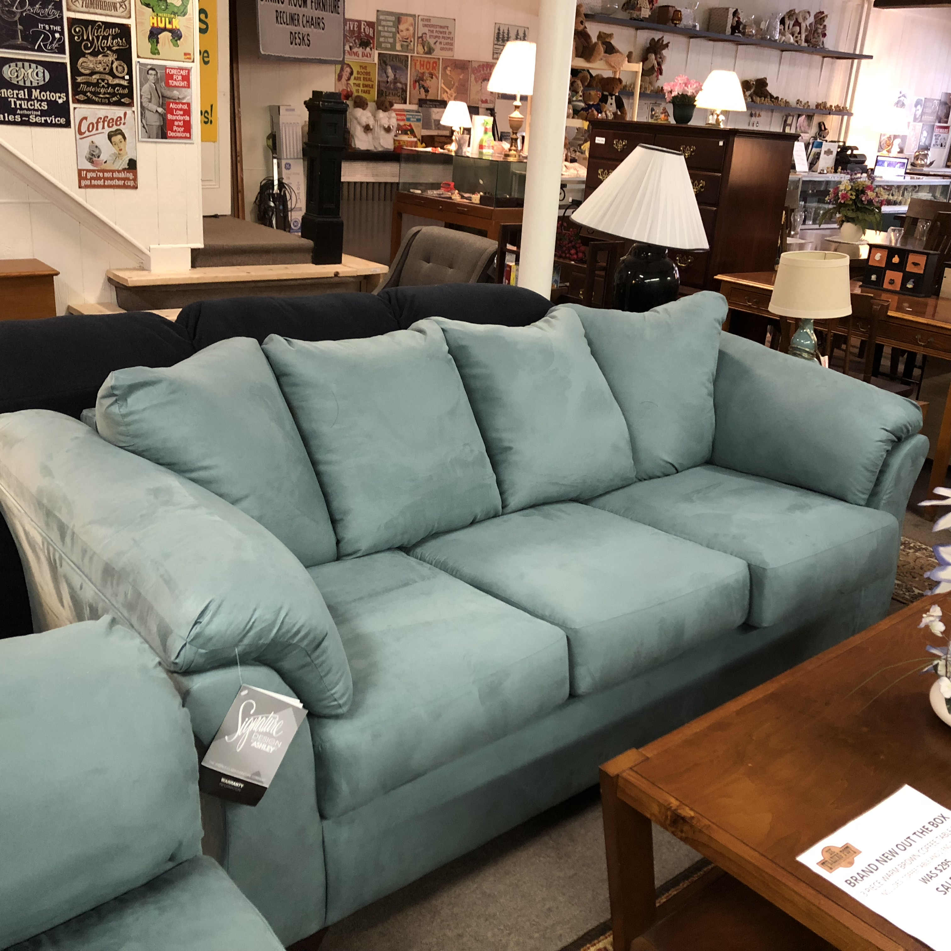 Ashley Furniture Brands: Living Room: BRAND NEW! Ashley Furniture Darcy Sofa And