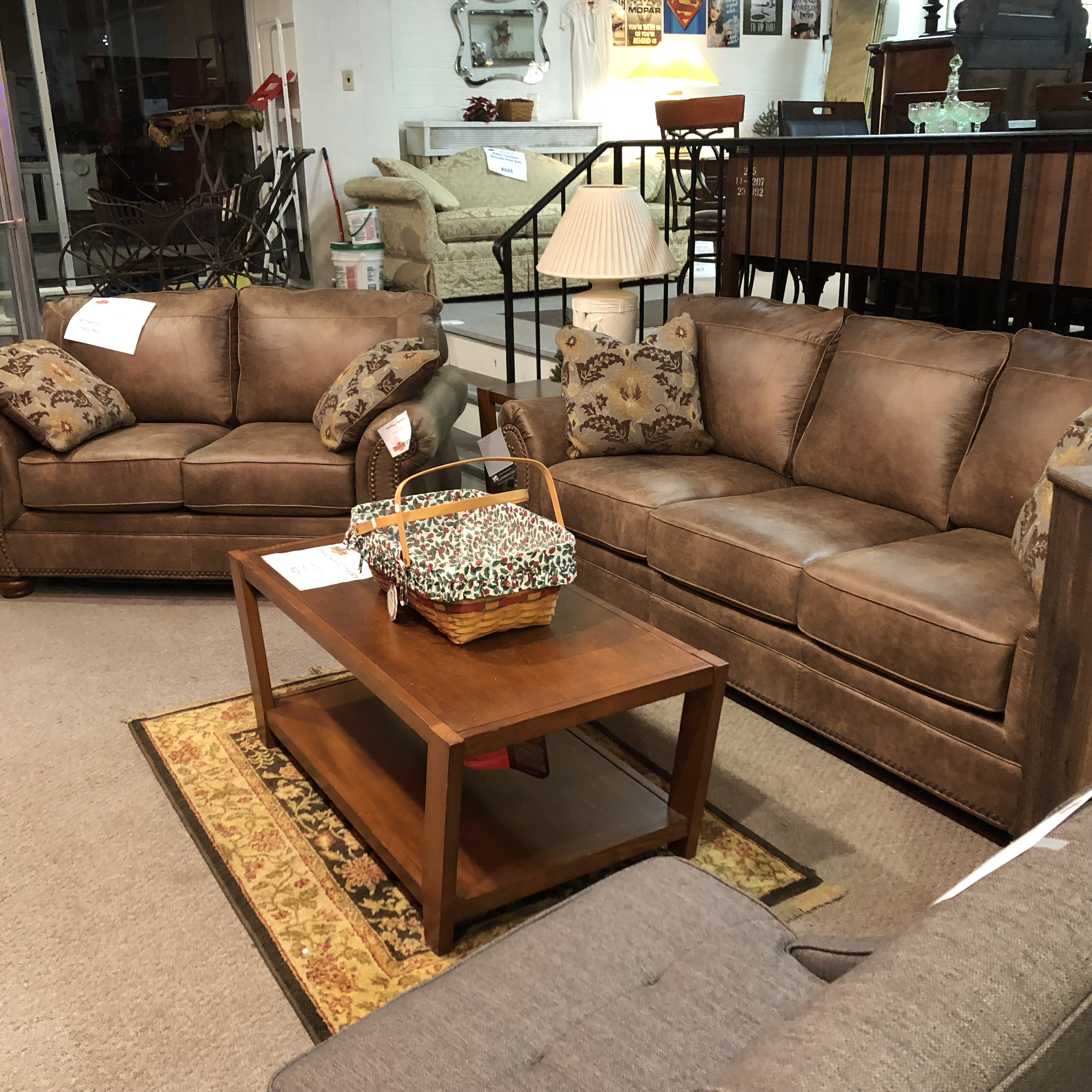 Sofa Sets: SOLD BUT CAN BE REORDERED